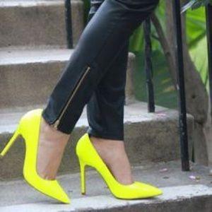Shoemint Neon heels